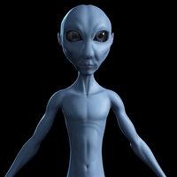 alien alieno 3d model