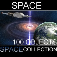 100 Space Objects