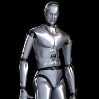 max robot rigged