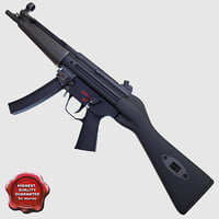 Submachine gun A4