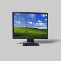 lcd monitor 3d 3ds
