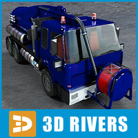 Sewer cleaner 01 by 3DRivers
