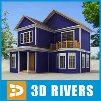 Small town house 49 by 3DRivers