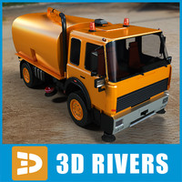 Street sweeper 02 by 3DRivers
