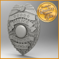 3ds police badge