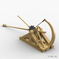 maya catapult leonardo da