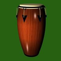 FR Conga Drum