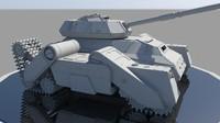 Quadtrack Tank Prototype