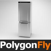 refrigerator 01 3d model