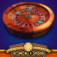 american roulette wheel - obj