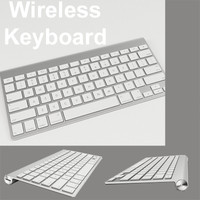apple wireless keyboard slim 3d max