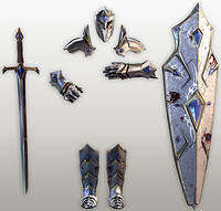 Fantasy knight tools