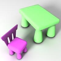 furniture child 001