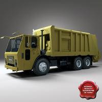 Garbage truck Mack