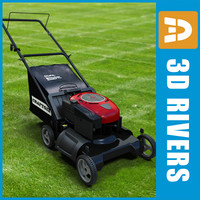 Lawn mower 01 by 3DRivers