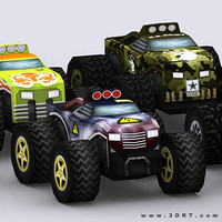 0 road rush monster trucks 3ds