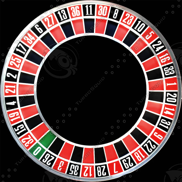 roulette wheel realistic 3d 3ds - ROULETTE WHEEL (high realistic)... by radoxist