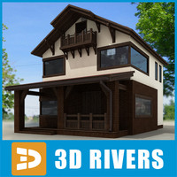 Small town house 02 by 3DRivers
