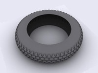 3d model tyres motorcycle