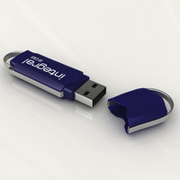 integral usb key 3d max