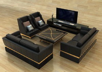 3ds max sofa combination