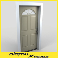 Residential Entry Door 10