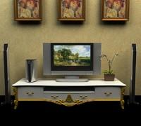 3d model tv