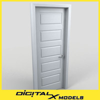 residential interior door 05 3d obj