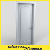 residential interior door 14 3d 3ds