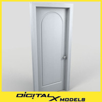 residential interior door 17 3d model
