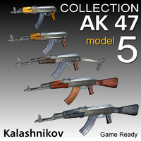 AK 47 kalashnikov Collection 5 Model