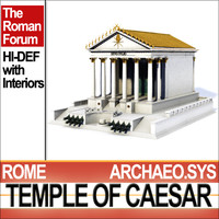 Temple of Julius Caesar [C. Huelsen Type]