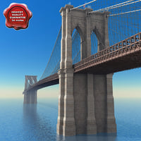 3d brooklyn bridge