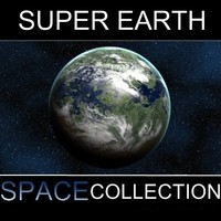 super planet earth 1 3d max