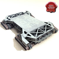 3d 3ds crawler transporter