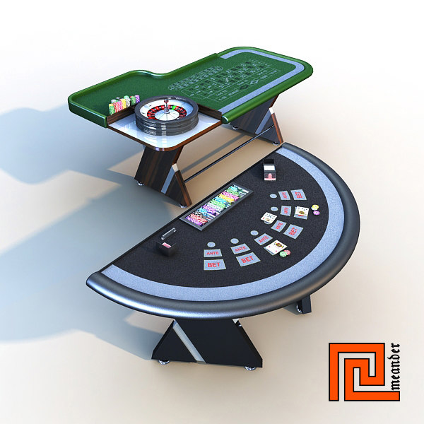 3d model set casino - Casino set 02... by meander