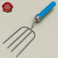 3d c4d garden fork
