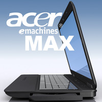 3d model notebook acer emachines eme525-902g16mi