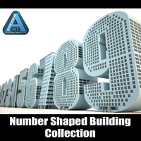 Number Shaped Building Collection