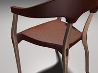 ergonomic chair c4d