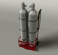 3d model welding tanks