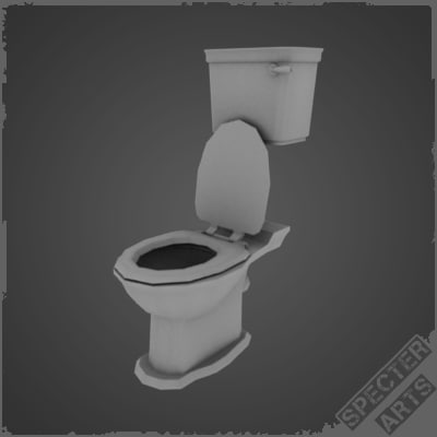 toilet plunger 3d model. Black Bedroom Furniture Sets. Home Design Ideas