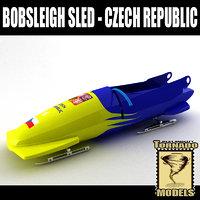Bobsleigh Sled - Czech Republic