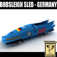 Bobsleigh Sled - Germany