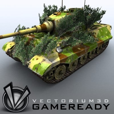 Game Ready - King Tiger 06