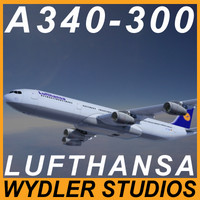 A340-300 Lufthansa