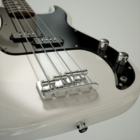fender guitar obj