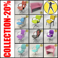 salon chair pack max