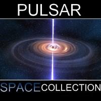 pulsar stars earth 3d max
