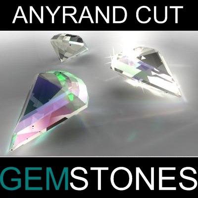 Anyrand Cut Gem